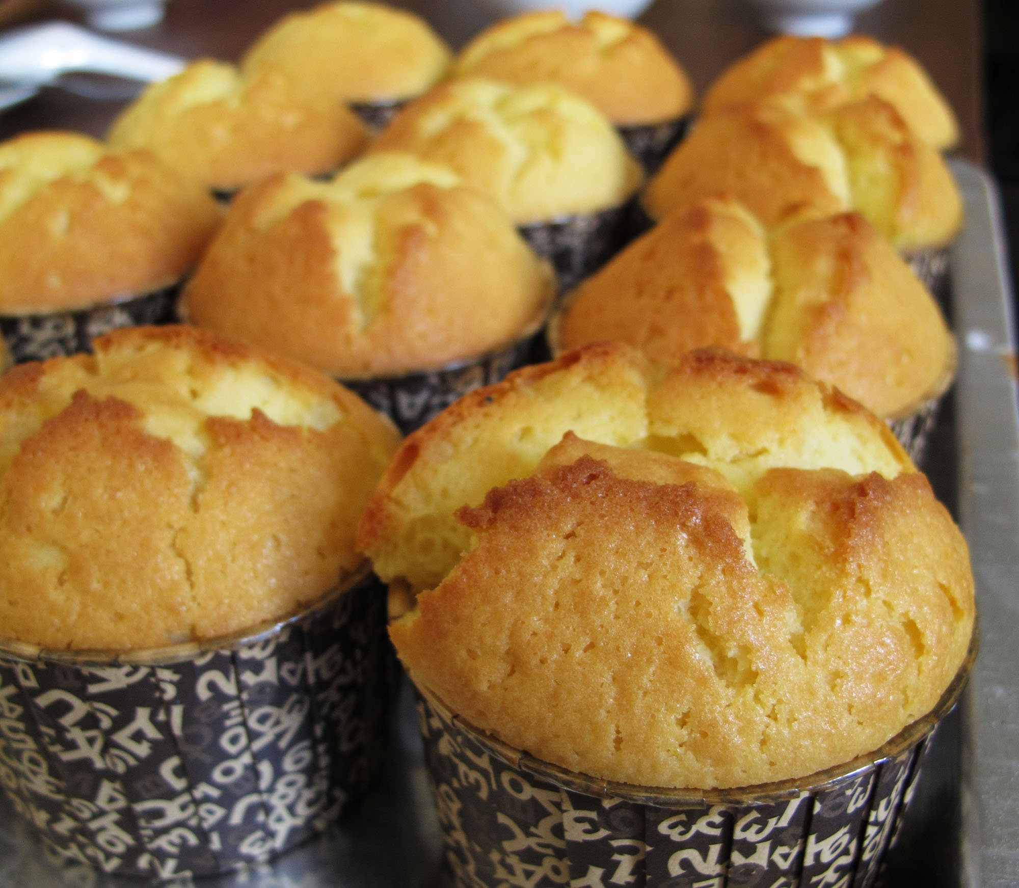 Orange Peel Muffin