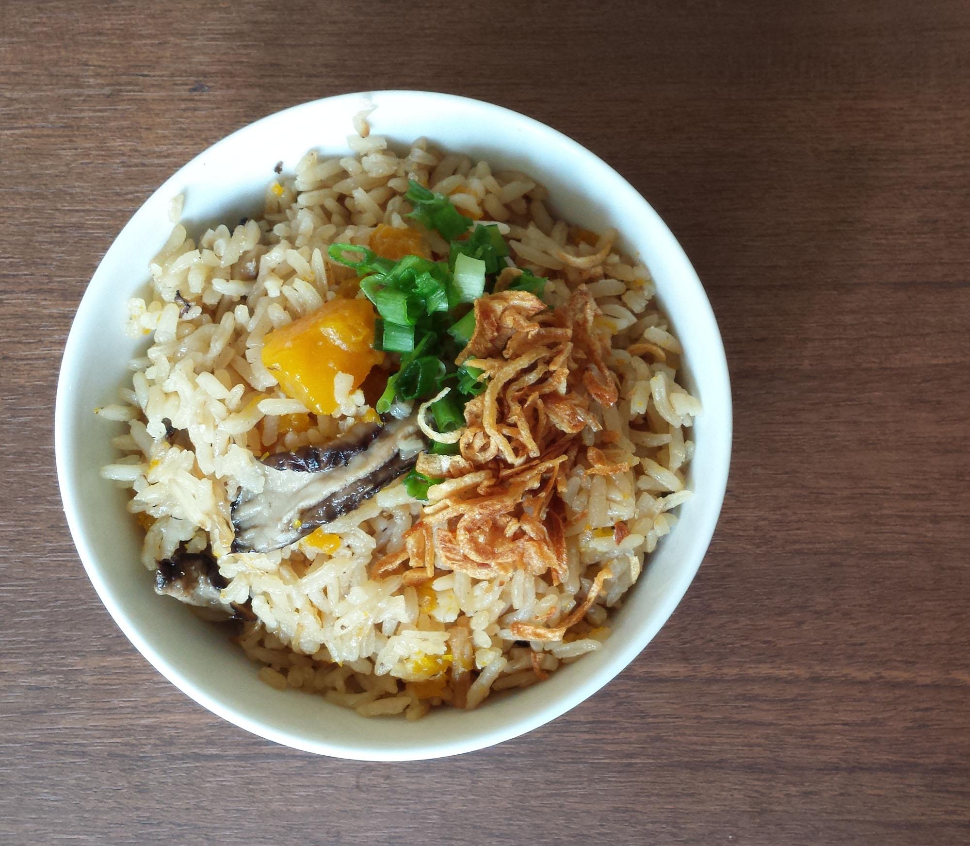 Pumpkin Rice