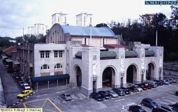 KTM Tanjong Pagar Railway Station (Former) Image Singapore