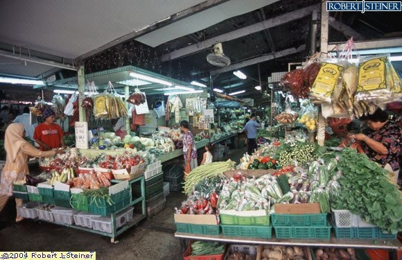 Geylang Serai Market, Vegetable Stalls