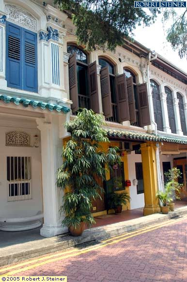 Another Stretch of Shophouses down Emerald Hill Road