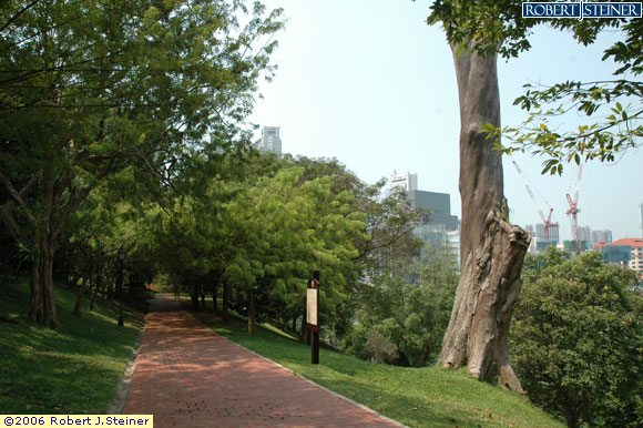 Fort Canning Hill Park, A green refuge from the City