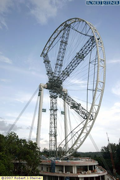 Ferris Wheel, North West View 6