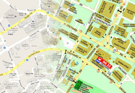 Google Map & Streetdirectory Map on youtube singapore, google singapore map directory, google map road singapore, city street map of singapore, raffles hotel singapore,