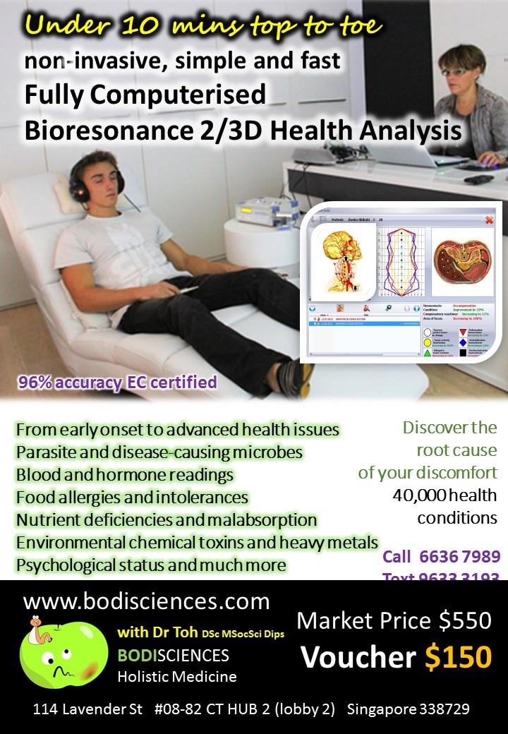Bodisciences Natural Holistic Medicine @ Mapex