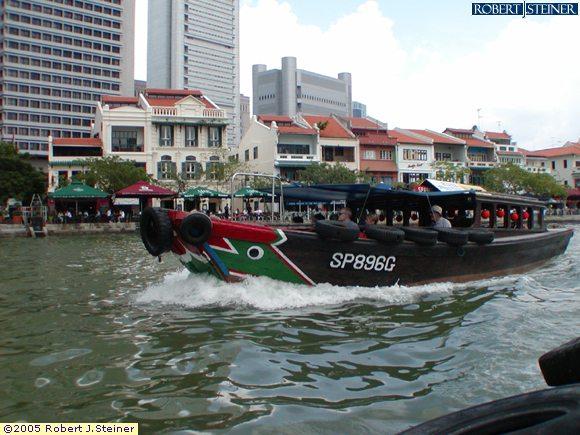 River Taxi Ride @ Boat Quay