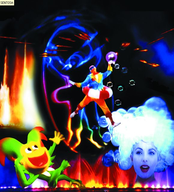 Magical Sentosa Show @ Musical Fountain